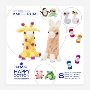 DMC Happy Cotton Amigurumi Pattern Book (One Shape, Two Ways)