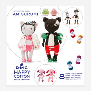 DMC Happy Cotton Amigurumi Pattern Book (Two of A Kind)