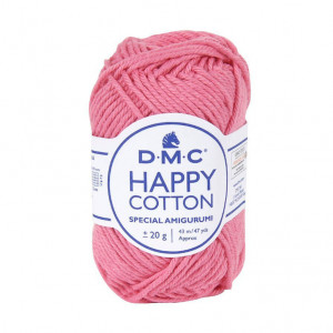DMC Happy Cotton Amigurumi Yarn - Bubblegum (799)