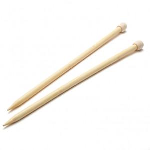 Hoooked® ™ Handmade Bamboo Single Point Knitting Needle - 12 mm.