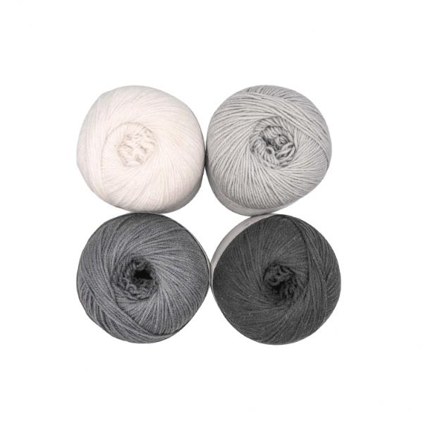 Performance Hug Me Fine Yarn Color Pack (The Monochrome Shades)