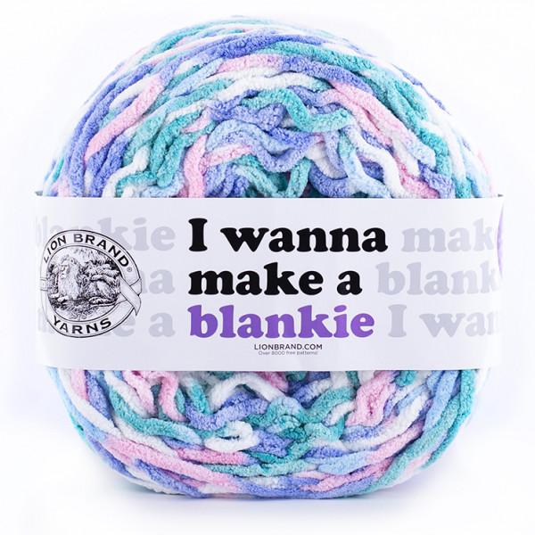 Lion Brand I Wanna Make a Blankie Yarn - Calluna (203)