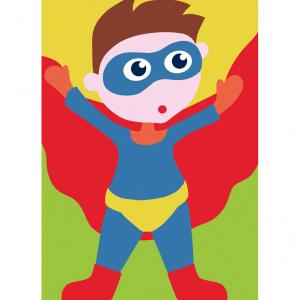 DMC Half Stitch Tapestry Kit - Superhero