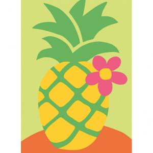DMC Half Stitch Tapestry Kit - Pineapple