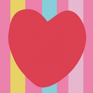 DMC Half Stitch Tapestry Kit - Red Heart