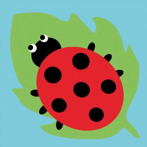 DMC Half Stitch Tapestry Kit - Ladybird