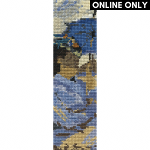 DMC Bookmark Counted Cross Stitch Kit - The Beach at Trouville by Monet