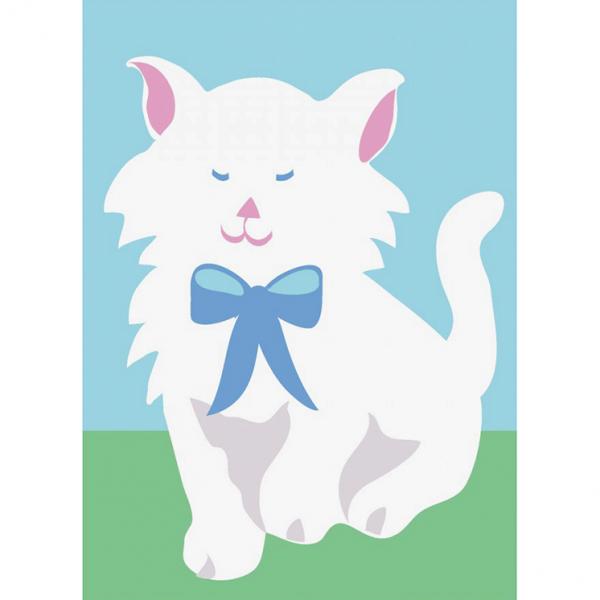 DMC Half Stitch Tapestry Kit - Cat