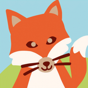 DMC Half Stitch Tapestry Kit - Fox