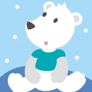 DMC Half Stitch Tapestry Kit - Polar Bear