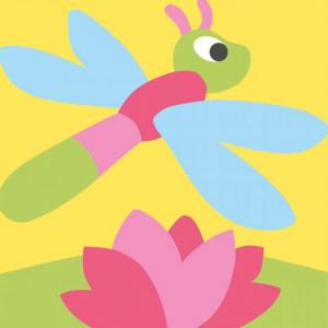 DMC Half Stitch Tapestry Kit - Dragonfly