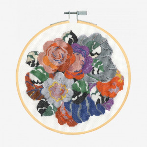 DMC Counted Cross Stitch Kit - Deco Composition from Variations by Edouard Benedictus
