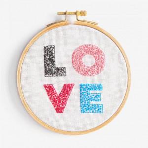 DMC Embroidery Kit - Love