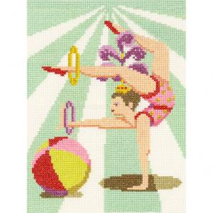 DMC Counted Cross Stitch Kit - Acrobat Alice