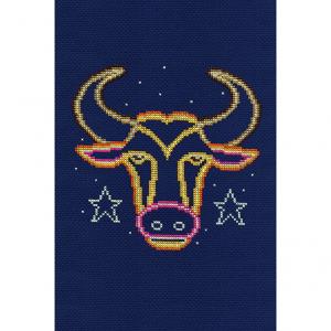 DMC Counted Cross Stitch Kit - Taurus