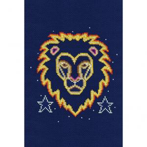 DMC Counted Cross Stitch Kit - Leo