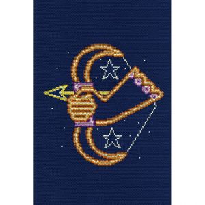 DMC Counted Cross Stitch Kit - Sagittarius