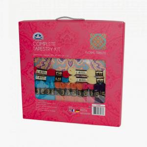 DMC Tapestry Kit - Floral Tribute