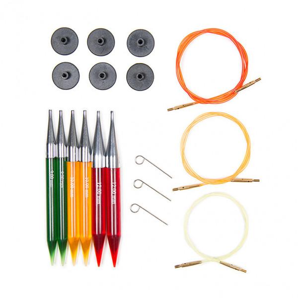 Knitting Needle Sets Circular Interchangeable Reviews : Knitpro™ trendz interchangeable circular knitting needle