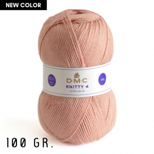 DMC Knitty 4 Extra Value Yarn, 100 gr. (614)