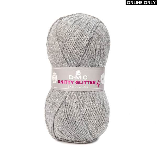 DMC® Knitty 4 Glitter Extra Value Yarn (226)