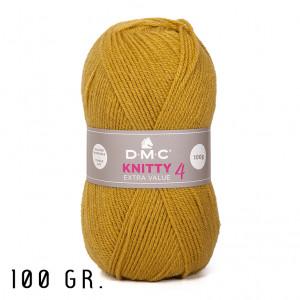 DMC Knitty 4 Extra Value Yarn, 100 gr. (666)