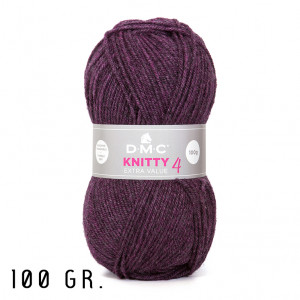 DMC Knitty 4 Extra Value Yarn, 100 gr. (906)