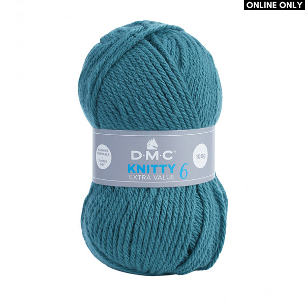 DMC Knitty 6 Extra Value Yarn (829)