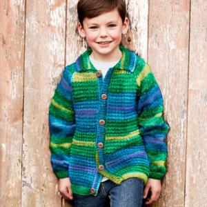 DMC Knitty 4 Pop Pattern - Children's Jacket