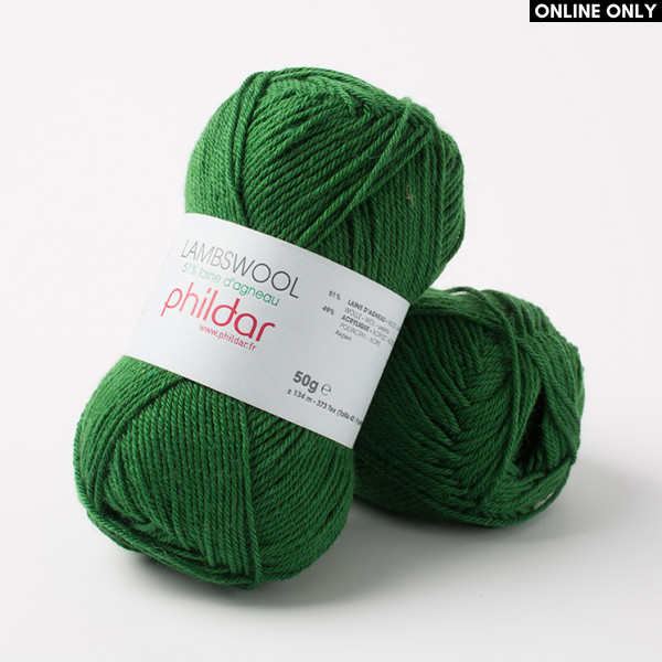 Phildar Lambswool Yarn - Billard (0123)