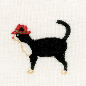 Lanarte® Counted Cross Stitch Kit - Jazz Cats II