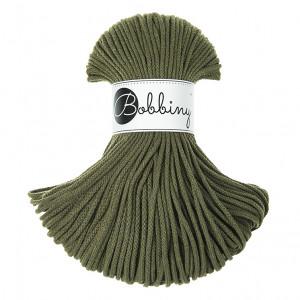 Bobbiny Premium Macramé Cord Yarn, Avocado, 3 mm.