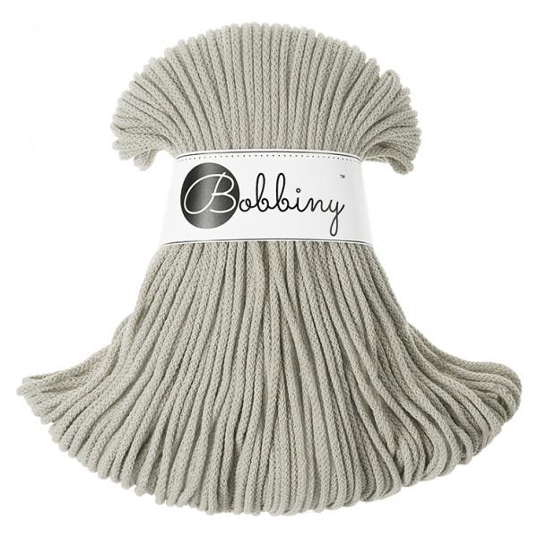 Bobbiny Premium Macramé Cord Yarn, Beige, 3 mm.