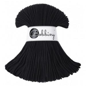 Bobbiny Premium Macramé Cord Yarn, Black, 3 mm.