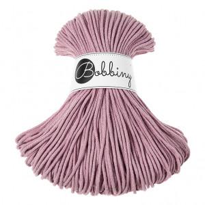 (PREORDER) Bobbiny Premium Macramé Cord Yarn, Dusty Pink, 3 mm.