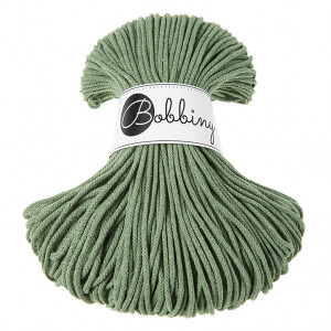 Bobbiny Premium Macramé Cord Yarn, Eucalyptus, 3 mm.
