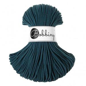 Bobbiny Premium Macramé Cord Yarn, Peacock Blue, 3 mm.