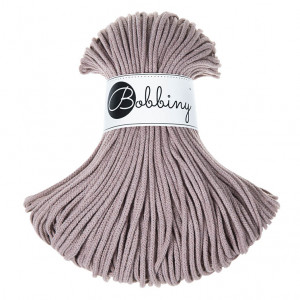 Bobbiny Premium Macramé Cord Yarn, Pearl, 3 mm.