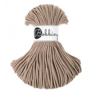 Bobbiny Premium Macramé Cord Yarn, Sand, 3 mm.