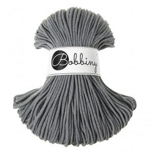 Bobbiny Premium Macramé Cord Yarn, Steel, 3 mm.