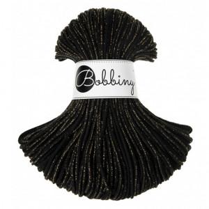 (PRE-ORDER) Bobbiny Premium Macramé Cord Yarn, Golden Black, 3 mm.