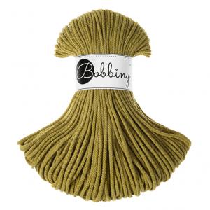 Bobbiny Premium Macramé Cord Yarn, Kiwi, 3 mm.