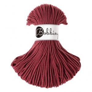 Bobbiny Premium Macramé Cord Yarn, Wild Rose, 3 mm.
