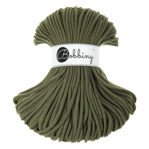 Bobbiny® Premium Macramé Cord Yarn, Avocado, 5 mm.