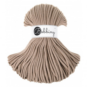 Bobbiny Premium Macramé Cord Yarn, Sand, 5 mm.