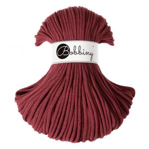 (PRE-ORDER) Bobbiny Premium Macramé Cord Yarn, Wild Rose, 5 mm.