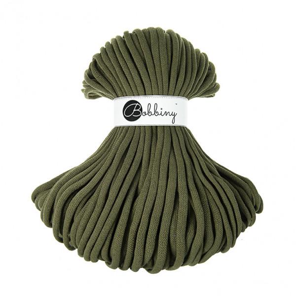 Bobbiny Premium Macramé Cord Yarn, Avocado, 9 mm.
