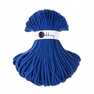 Bobbiny Premium Macramé Cord Yarn, Classic Blue, 9 mm.
