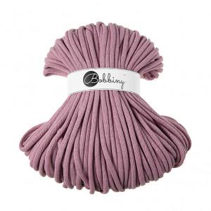 Bobbiny Premium Macramé Cord Yarn, Dusty Pink, 9 mm.