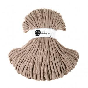 Bobbiny Premium Macramé Cord Yarn, Sand, 9 mm.